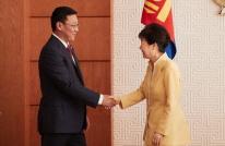 대통령, 몽골 신임 국회의장 및 신임 총리 접견해 경제협력 확대와 우호 증진 방안 논의