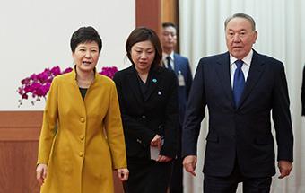 한-카자흐스탄 정상회담